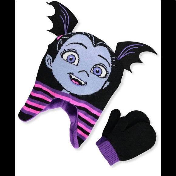 d0fdde51d4b Disney vampirina Beanie Hat   Mitten Set - Toddler